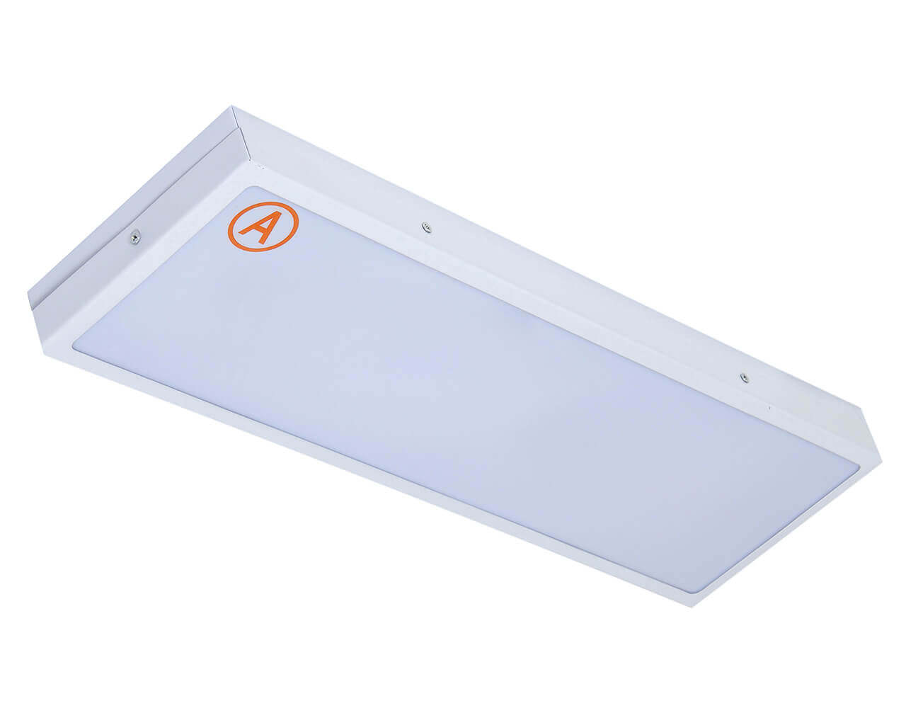 Универсальный светильник LC-SIP-40K ватт 595x180 IP65 Теплый белый Опал с Бап 3 часа