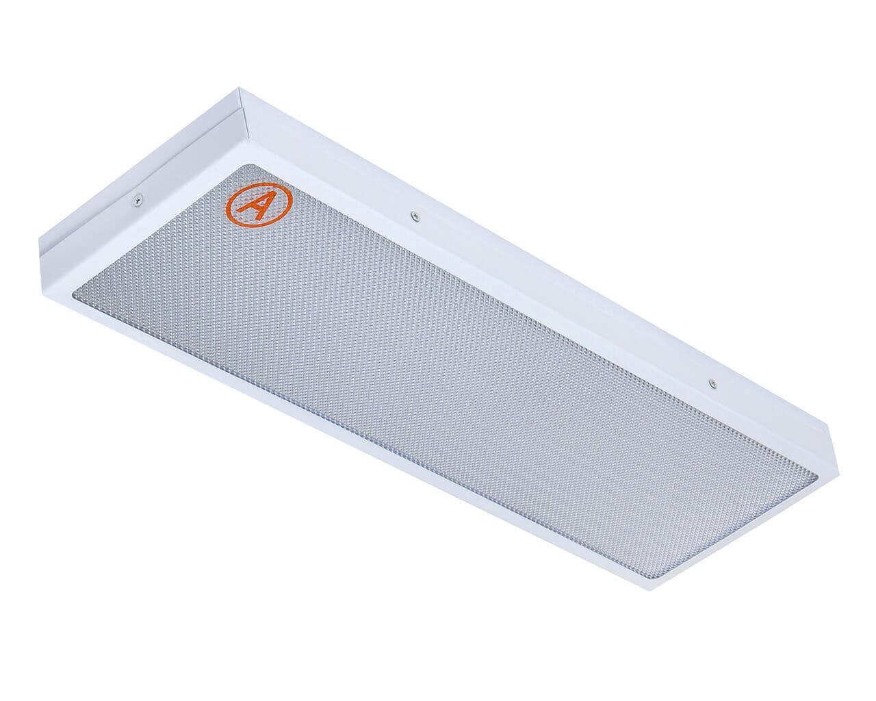 Универсальный светильник LC-SIP-40К-WW 595x180 IP65 Теплый белый Призма с Бап 3 часа