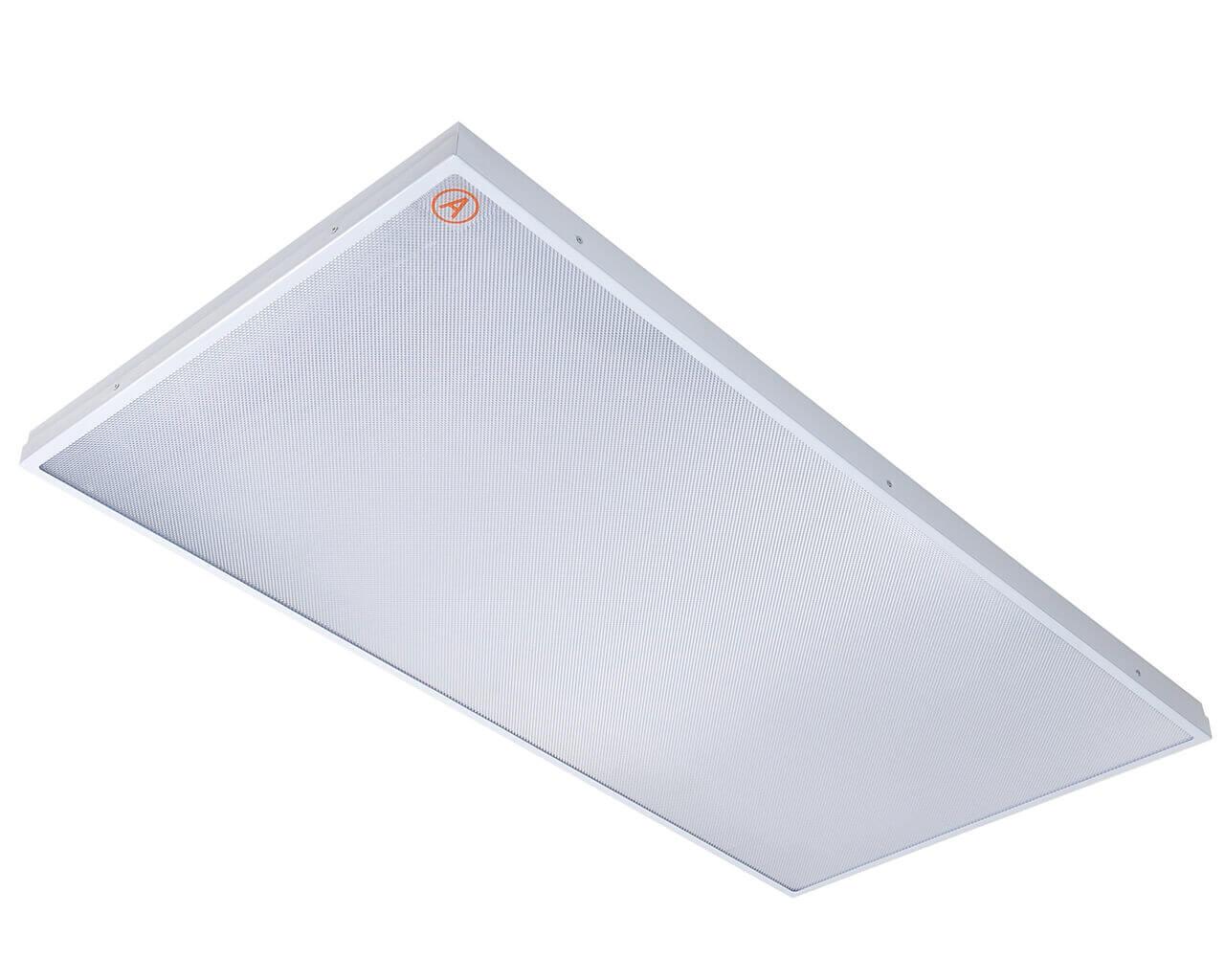 Накладной светильник LC-SIP80 1195x595 IP65 Теплый белый Призма с Бап 3 часа