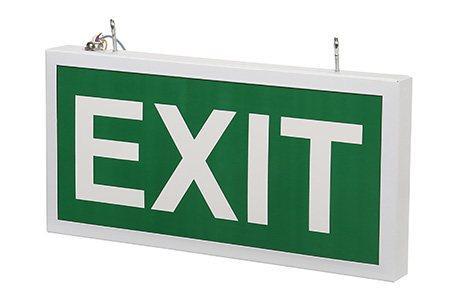 Светодиодный аварийный указатель LC-SIP-E27-3015-BAP Exit 330х180 мм