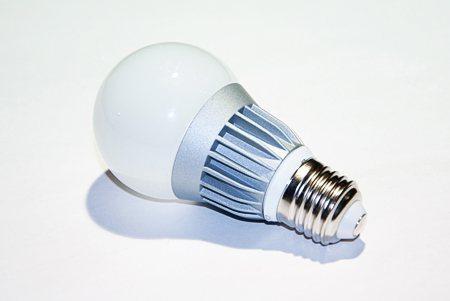 Светодиодная лампа LEDcraft Стандартная колба Е27 3 Ватт Теплый белый