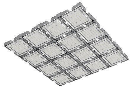 Туннельный модульный светильник LC-TMS-100100-800W-W 100*100 См Холодный белый