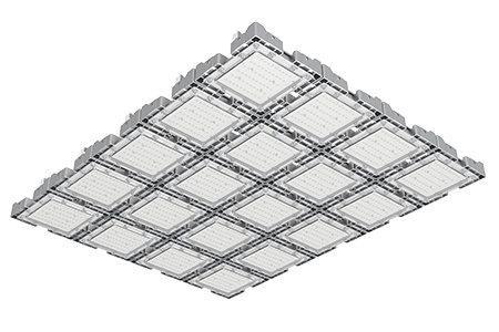 Туннельный модульный светильник  LC-TMS-100125-600W-W 100*125 См Холодный белый