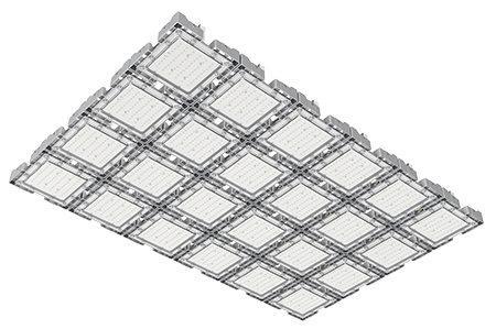Туннельный модульный светильник  LC-TMS-100150-720W-W 100*150 См Теплый белый