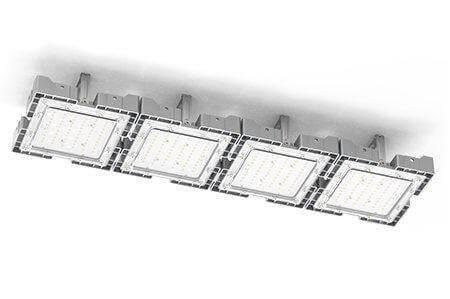 Туннельный модульный светильник  LC-TMS-25100-120W-W 25*100 См Теплый белый