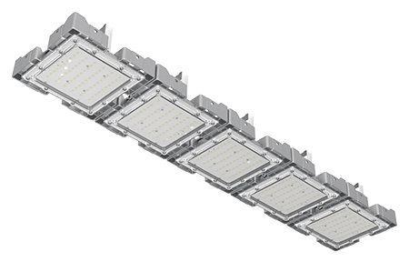 Туннельный модульный светильник LC-TMS-25125-250W-W 25*125 См Теплый белый