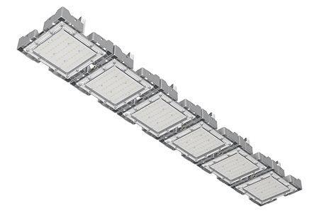 Туннельный модульный светильник  LC-TMS-25150-180W-W 25*150 См Теплый белый