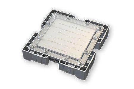 Туннельный модульный светильник LC-TMS-2525-50W-W 25*25 См Холодный белый