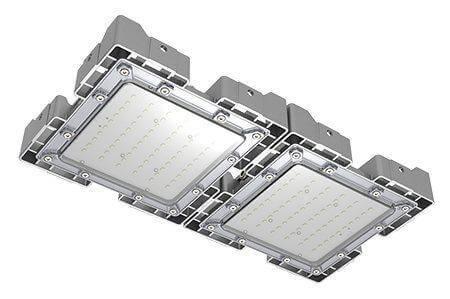 Туннельный модульный светильник LC-TMS-2550-100W-W 25*50 См Теплый белый