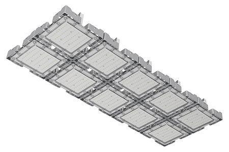 Туннельный модульный светильник LC-TMS-50125-500W-W 50*125 См Теплый белый