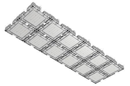 Туннельный модульный светильник LC-TMS-50150-600W-W 50*150 См Теплый белый