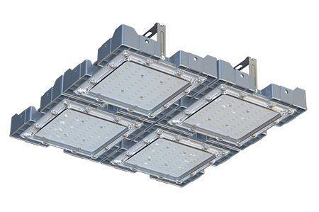 Туннельный модульный светильник LC-TMS-5050-200W-W 50*50 См Теплый белый