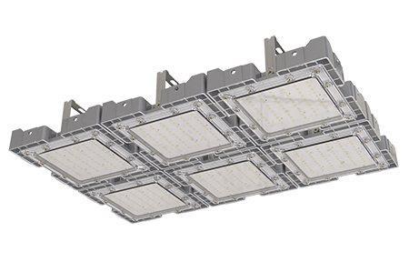 Туннельный модульный светильник LC-TMS-5075-300W-W 50*75 См Холодный белый