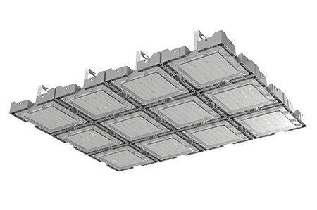 Туннельный модульный светильник  LC-TMS-75100-360W-W 75*100 См Теплый белый