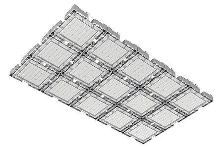 Туннельный модульный светильник LC-TMS-75125-750W-W 75*125 См Теплый белый