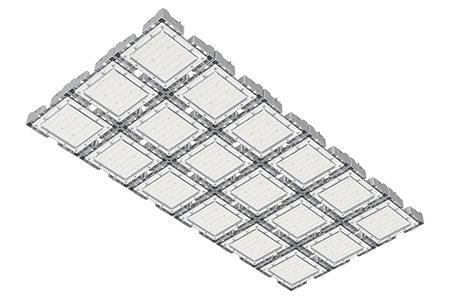 Туннельный модульный светильник  LC-TMS-75150-540W-DW 75*150 См Нейтральный белый