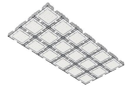 Туннельный модульный светильник  LC-TMS-75150-540W-W 75*150 См Теплый белый