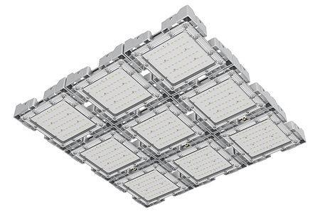 Туннельный модульный светильник  LC-TMS-7575-270W-W 75*75 См Теплый белый