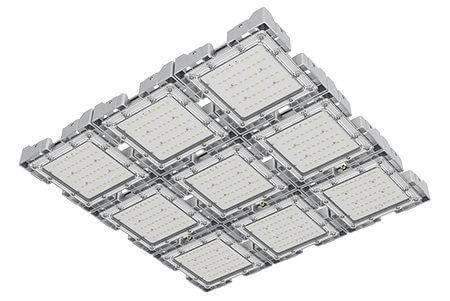 Туннельный модульный светильник LC-TMS-7575-450W-W 75*75 См Холодный белый