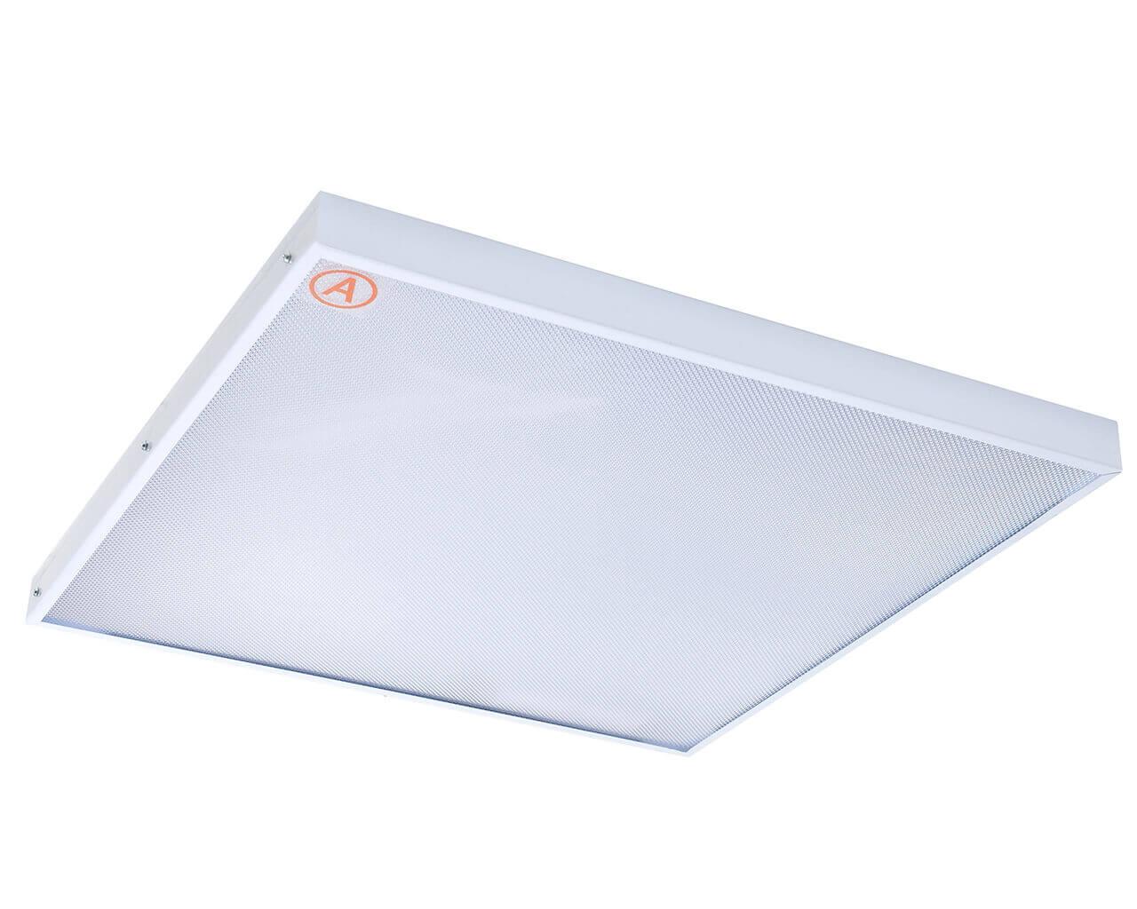 Универсальный светильник LC-US-40-WW ватт 595x595 Теплый белый Призма с Бап-1 час