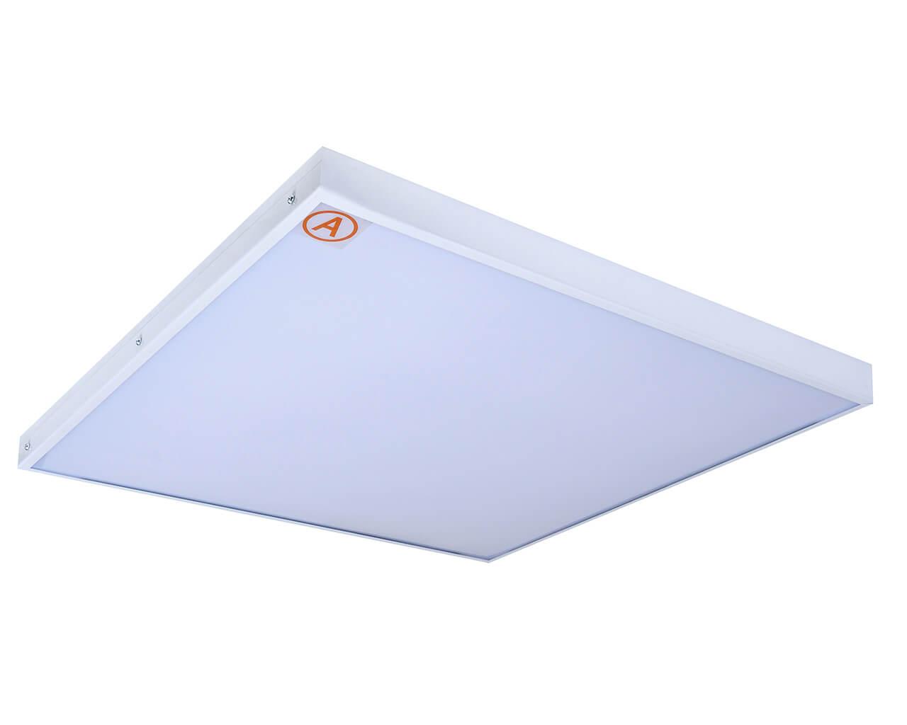 Универсальный светильник LC-US-S80-OP-WW ватт 595x595 Теплый белый Опал с Бап-3 часа