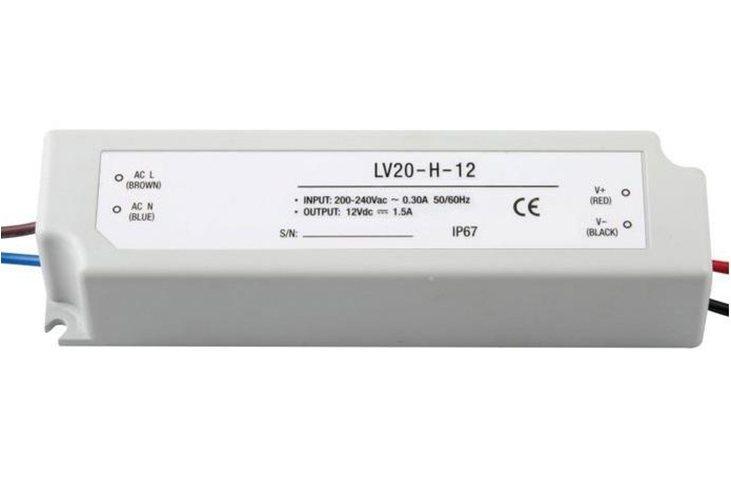 Блок питания LC-WP-20W-24V-PL IP65 0,75 A