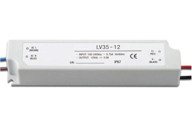 Блок питания LC-WP-36W-12V-PL IP65 3 A