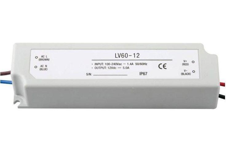 Блок питания LC-WP-60W-12V-PL IP65 5 A