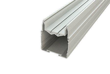 Алюминиевый профиль для PR АВД-2432  (6 метров хлыст) анодированный